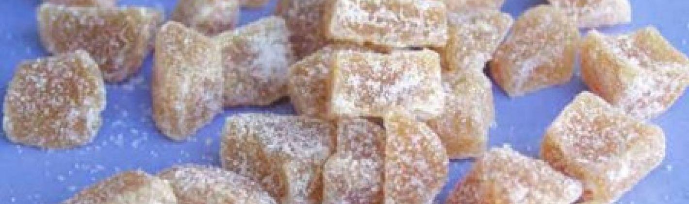 Ricetta biscotti allo zenzero candito