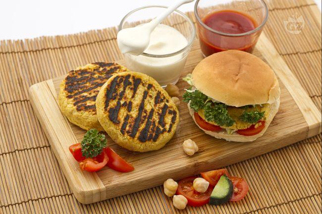 Ricetta hamburger di ceci