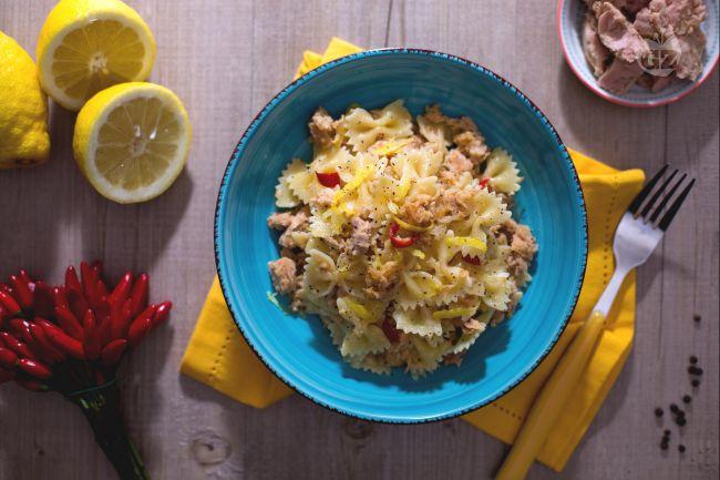 Ricetta pasta tonno e limone
