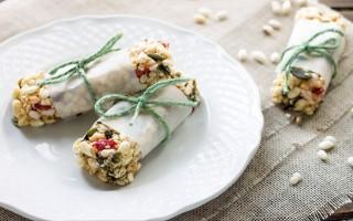 Ricetta barrette ai semi di zucca e bacche di goji