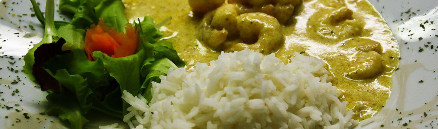 Ricetta gamberetti al curry
