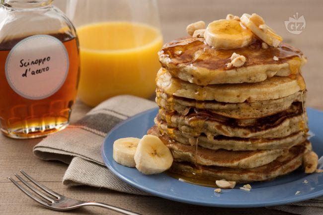 Ricetta pancake alla banana