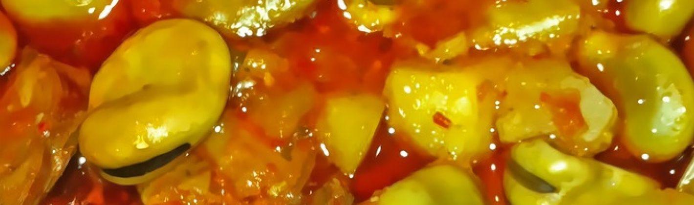 Ricetta fave in padella