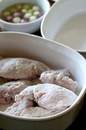Ricetta coniglio marinato e fritto