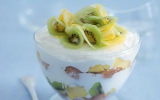 Ricetta trifle di panna cotta