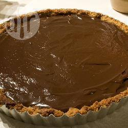 Crostata con mousse al cioccolato