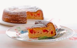 Ricetta torta di ricotta alla marmellata di ciliegie