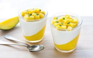 Ricetta panna cotta al mango