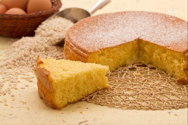 Ricetta pan di spagna con farina di riso