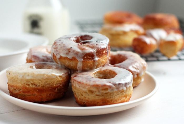 Donuts glassati alla vaniglia