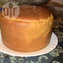 Pan brioche con semola