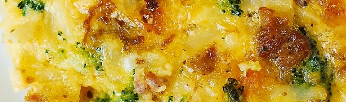 Ricetta broccoli con formaggio e salsiccia