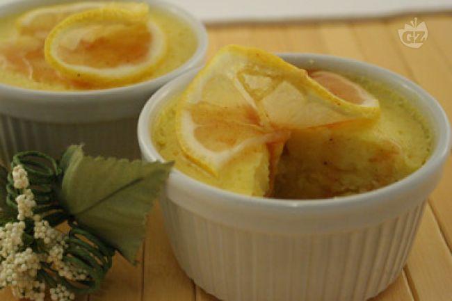 Ricetta souffle di ricotta al limone con salsa di limone e cannella ...