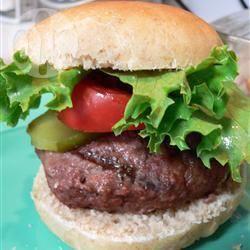Hamburger all'americana