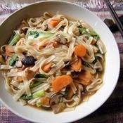 Ricetta vermicelli di soia con verdure