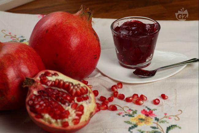 Ricetta gelatina di melagrana