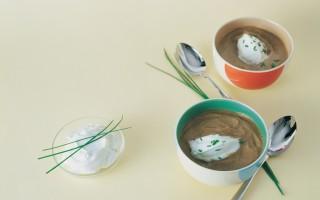 Ricetta crema di lenticchie con erba cipollina