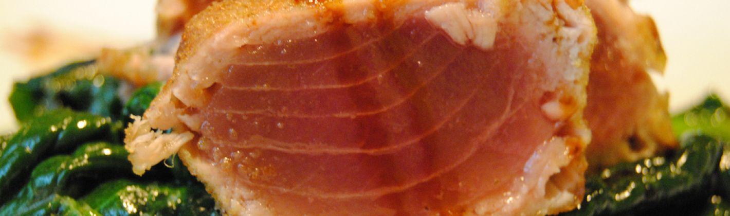 Ricetta filetti di tonno in crosta