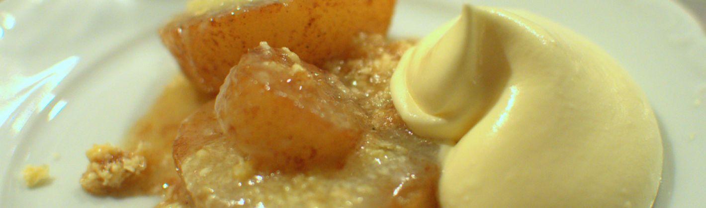 Ricetta pere con crema pasticcera