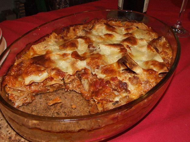 Ricetta lasagne senza besciamella