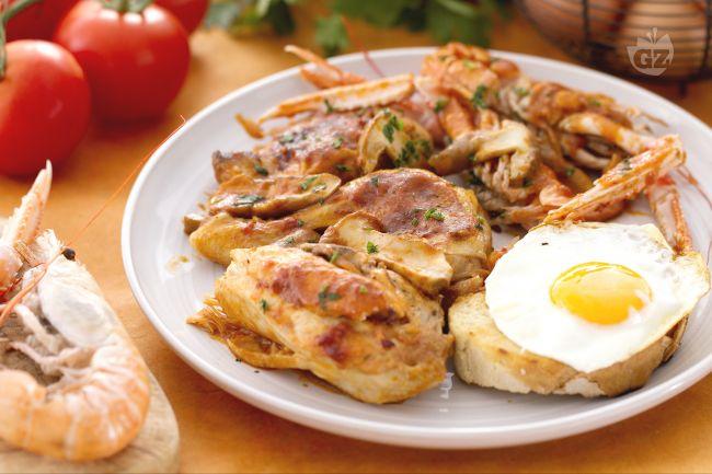 Ricetta pollo alla marengo