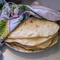 Tortillas di farina messicane
