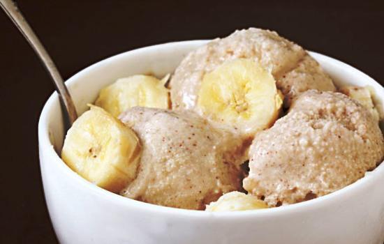 Gelato alle banane bimby
