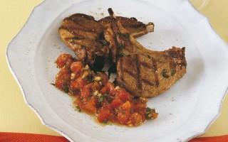 Ricetta costolette d'agnello all'aceto balsamico