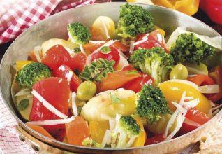 Padellata di verdure e pecorino