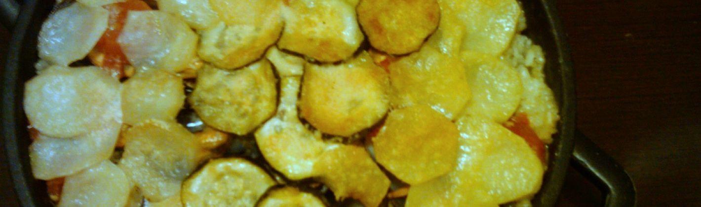 Ricetta riso patate e cozze