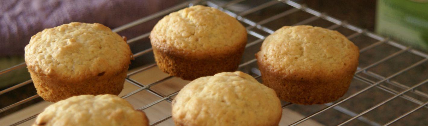 Ricetta muffin con olio di oliva