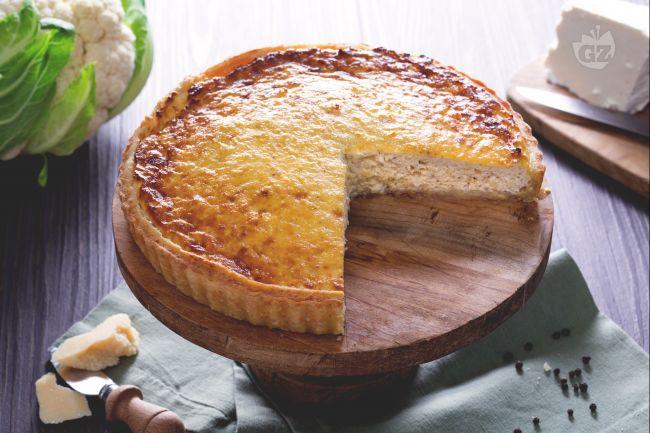 Ricetta torta di cavolfiore