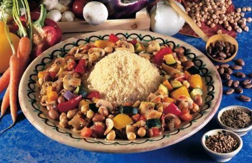 Cuscus di verdure