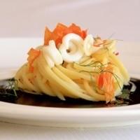 Ricetta spaghettoni alla seppia