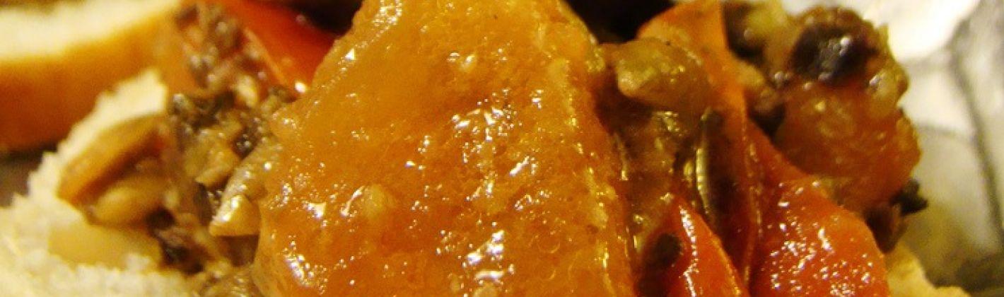 Ricetta crostini di zucca e cipolle