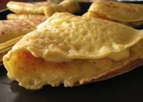 Crepes ai formaggi con il bimby