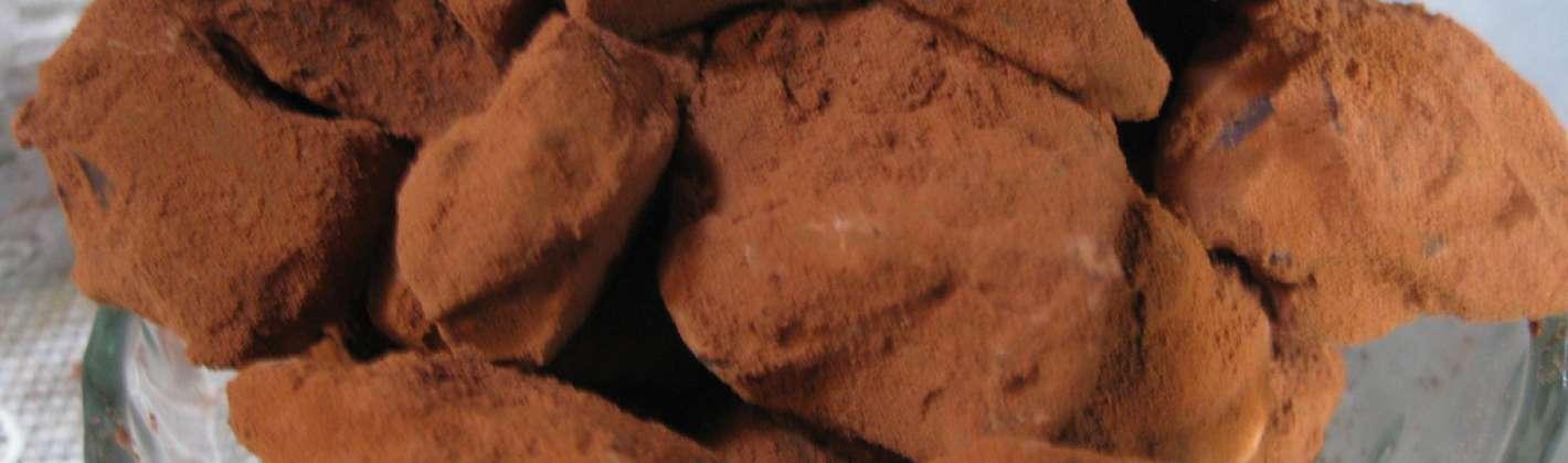 Ricetta tartufi al cioccolato e grand marnier