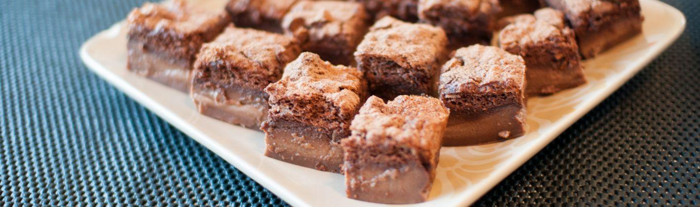 Ricetta torta magica al cioccolato
