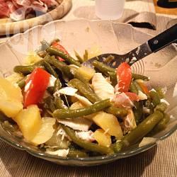 Insalata di fagiolini e patate con ricotta salata