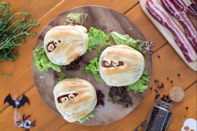 Ricetta mummie hamburger