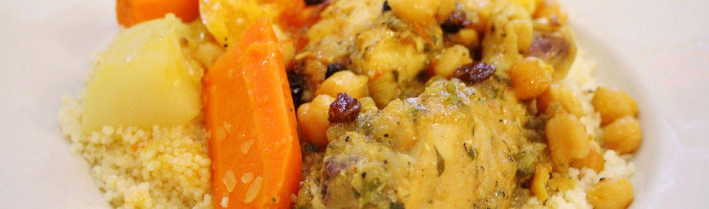 Ricetta cous cous di pollo al curry con carote