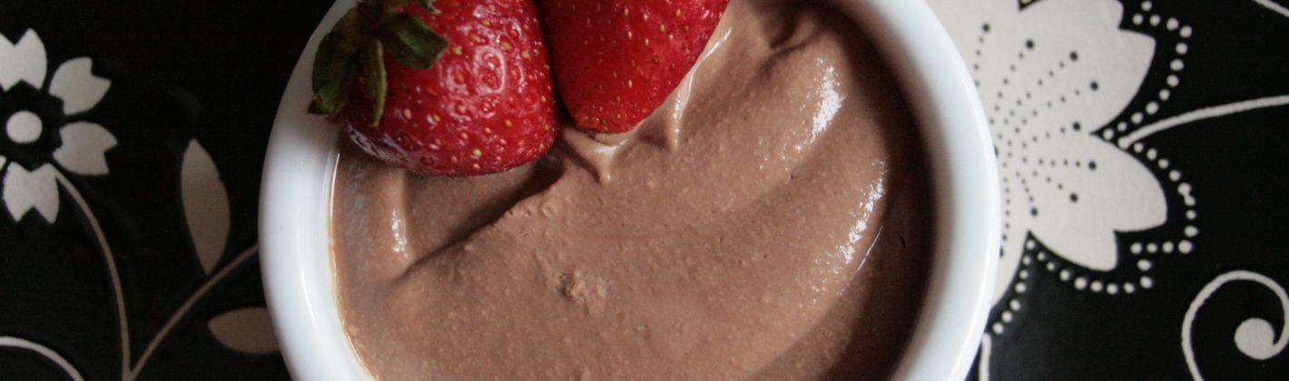 Ricetta mousse di cioccolato vegana