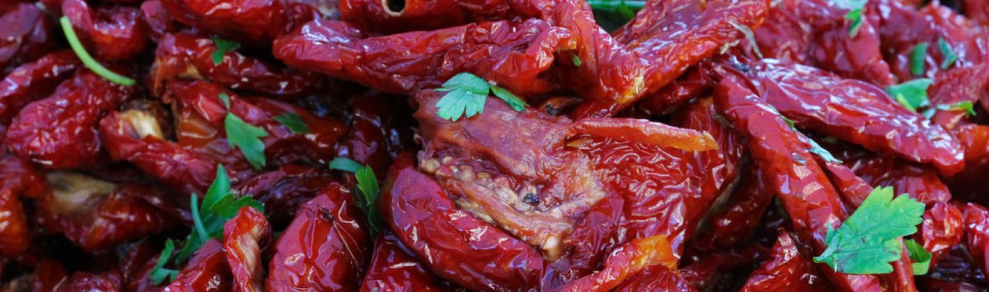 Ricetta pomodori secchi con la rucola