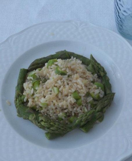 Riso asparagi (veneto)