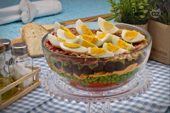 Ricetta insalata sette strati