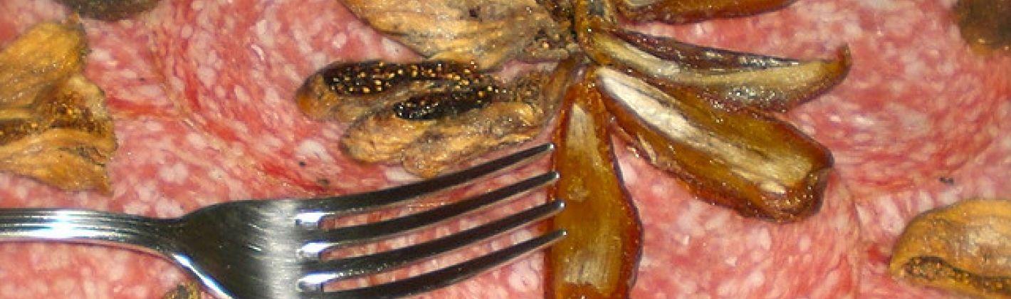 Ricetta piatto di salumi e fichi secchi