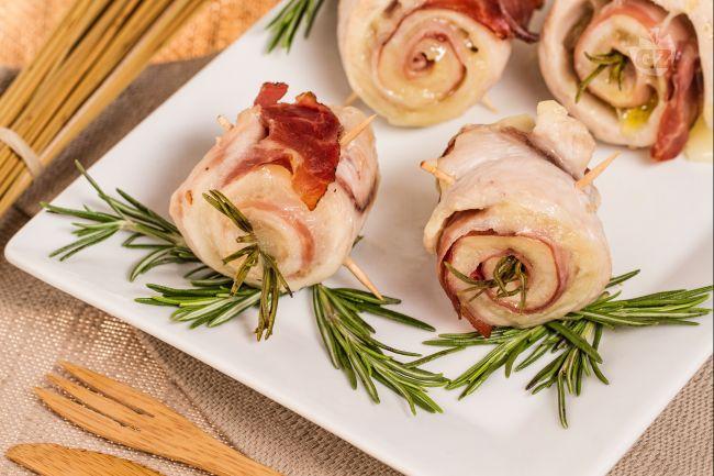 Ricetta rotolini di pollo ripieni