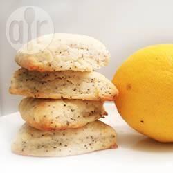 Scones vegani al limone e semi di papavero