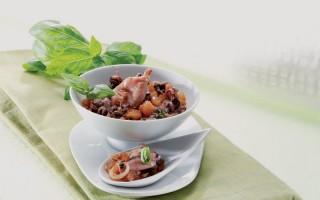 Ricetta zuppetta di calamaretti piccanti