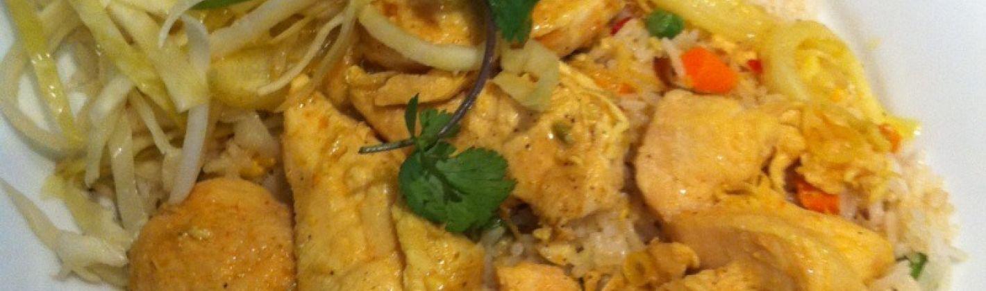 Ricetta pollo con zenzero e curry